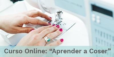 Curso Online Costura Aprender a coser