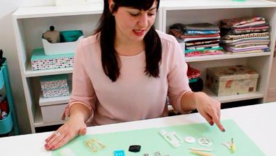 Herramientas y accesorios de la maquina de coser