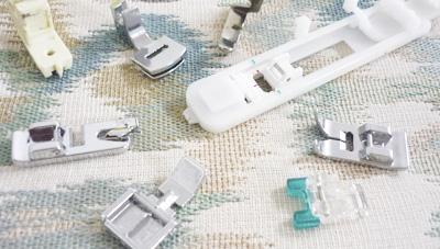 Los prensatelas imprescindibles para tu maquina de coser