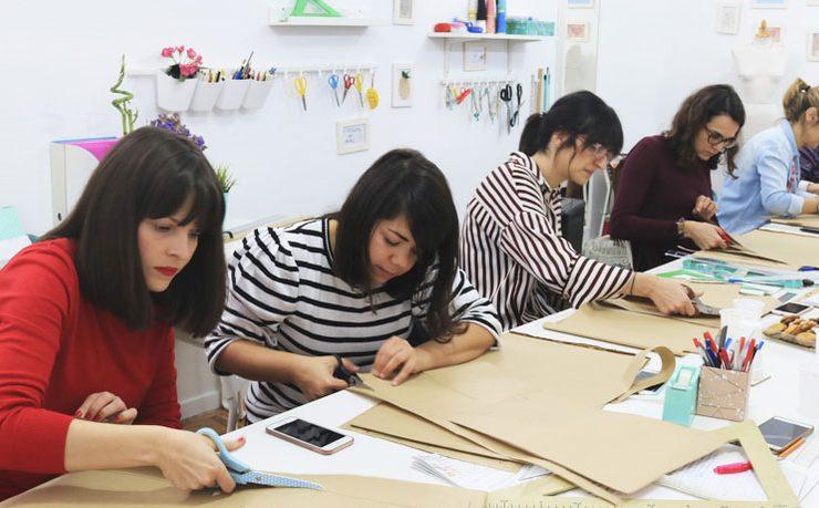 Curso de Costura y Patronaje Malasaña Madrid